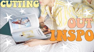 Cutting Out Pictures from Magazines// ThatsSoAri