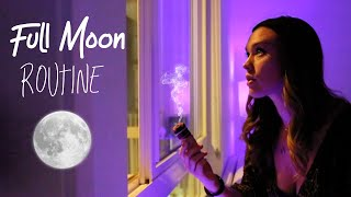 My FULL MOON RITUAL ROUTINE | The Perfect Step by Step Full Moon Ceremony for Release