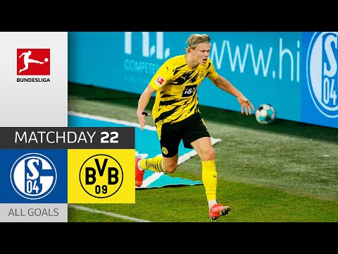 Beast Mode Haaland! FC Schalke 04 – Borussia Dortmund | 0-4 | All Goals | Matchday 22 – Bundesliga