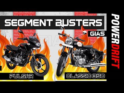 Bajaj Pulsar & Royal Enfield Classic 350 | Indian premium motorcycle market legends | PowerDrift