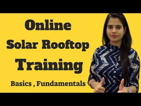 solar training | online solar training | solar basics training - YouTube