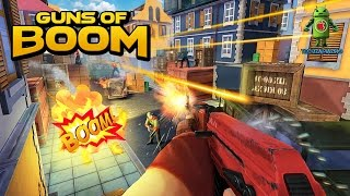 GUNS OF BOOM GAMEPLAY - ( iOS / Android )