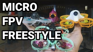 FPV Freestyle with Mobula 6 (still noob)