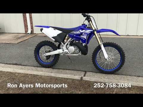 2018 Yamaha YZ250X in Greenville, North Carolina