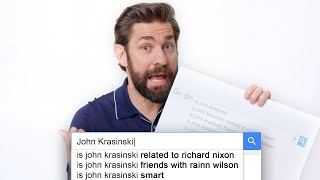 John Krasinski Answers the Web's Most Searched Questions | WIRED - Video Youtube