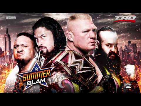 """WWE: SummerSlam 2017 - """"Empire"""" - Official Promo Theme Song"""