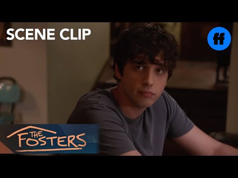 The Fosters | Season 5, Episode 2: Brandon And Callie Talk About College | Freeform