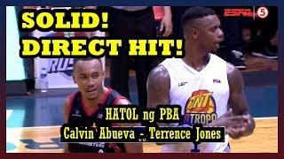 BOOM! NAGBIGAYAN NG TIG ISA! | The Beast Calvin Abueva Kontra Terrence Jones | Ang HATOL Ng PBA