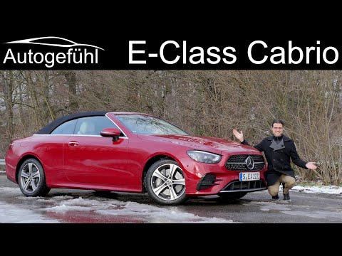 The dream convertible? Mercedes E-Class Cabriolet E450 FULL REVIEW 2021 A238