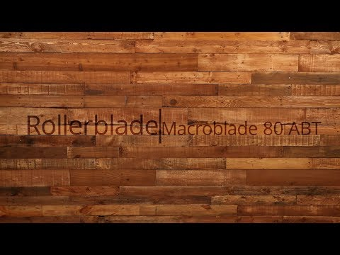 Video: 2018 Rollerblade Macroblade 80 ABT Mens and Womens Inline Skate Overview by InlineSkatesDotCom