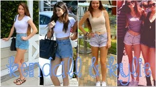 Kendall & Kylie Jenner Style Steal: Makeup + Outfits!