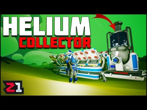Starting a NEW Project! Helium Collection Station ! Astroneer Gameplay | Z1 Gaming