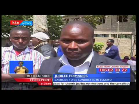 Sealed ballot papers expected to arrive in Kapsabet town ahead of primaries
