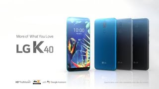 LG K40: Product Video