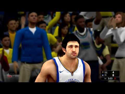 NBA 2K18 Xbox 360/PS3 Gameplay - Cavs vs. Warriors