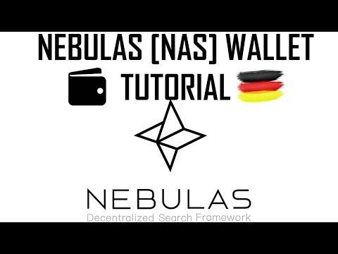 Nebulas Wallet einrichten und nutzen | NAS Web Wallet Tutorial deutsch