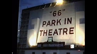 """""""66"""" """"Park In Theatre"""" & Coral Court Motel (at night), St Louis, MO"""