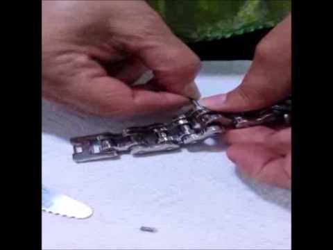 How to size bike chain bracelet - Easy way