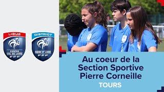 Au cœur de la section sportive Pierre Corneille à Tours