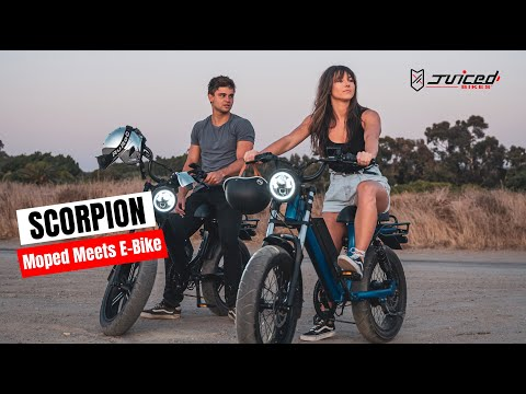 Juiced SCORPION – Moped Style E-Bike-GadgetAny