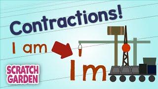 Contractions! | English Grammar Practice | Scratch Garden