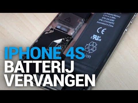 iPhone 4s batterij vervangen - FixjeiPhone.nl