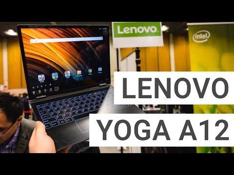 Lenovo Yoga A12: Android 2-in-1 im Kurztest   Deutsch