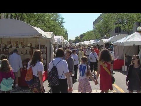 Ann Arbor Art Fair kicks off after one-year hiatus