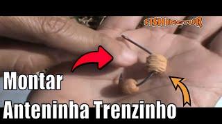 Aprenda a fazer a sua anteninha com evas e miçanga
