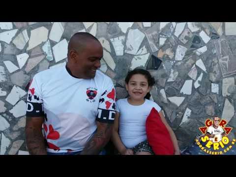 Repórter Favela na Favela do Justino com a Gabi Gabriela a mini Repórter do Jornal Agora é Sério