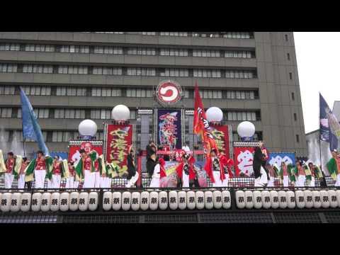 情熱組様YOSAKOI楽曲2015「笑門来福」