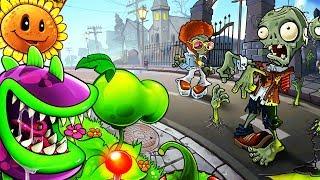 Мульт Игра РАСТЕНИЯ ПРОТИВ ЗОМБИ 2 Игровое видео для детей про АТАКУ ЗОМБИ
