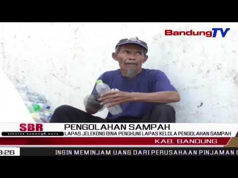 Lapas Jelekong Bina Penghuni Lapas Kelola Pengolahan Sampah | SBR | BANDUNGTV