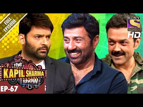 The Kapil Sharma Show - Ep. 67–दी कपिल शर्मा शो–Sunny Deol & Bobby Deol In Kapil's Show–11th Dec 16