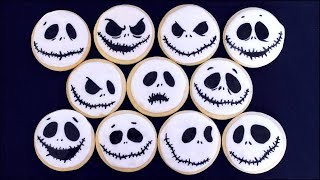 Jack Skellington Cookies For Halloween!!!