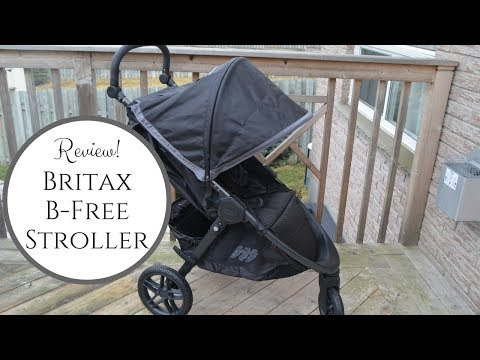 New! 2018 Britax B Free Stroller Review