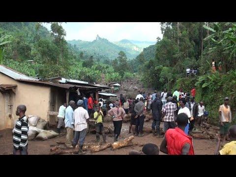 Dozens killed in eastern Uganda mudslides