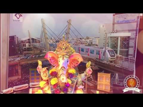 Chintan Shah Home Ganpati Decoration Video
