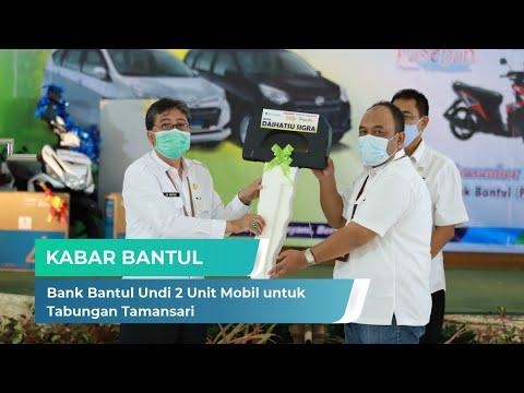 Bank Bantul Undi 2 Unit Mobil untuk Tabungan Tamansari | Kabar Bantul (16/12/2020)