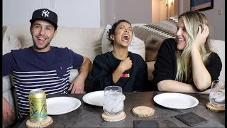 EATING OUR FEELINGS WITH LIZA KOSHY AND MY WIFE!