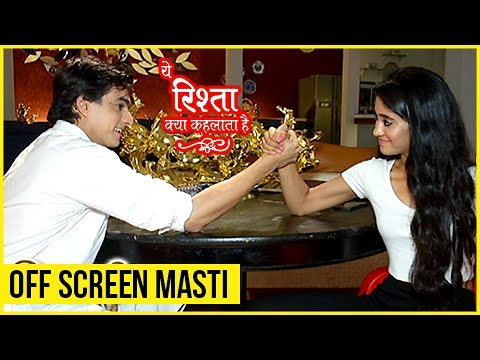 Kartik And Naira Off Screen Masti - Exclusive Interview | Yeh Rishta Kya Kehlata Hai