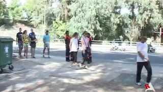 preview picture of video 'II Cross popular río Tarafa de Aspe'