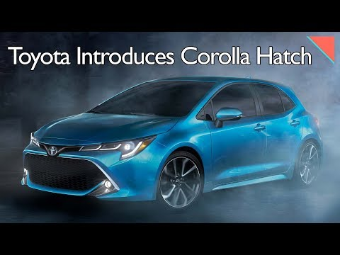 Toyota Corolla Hatchback, New Tech Can See Through Fog - Autoline Daily 2317