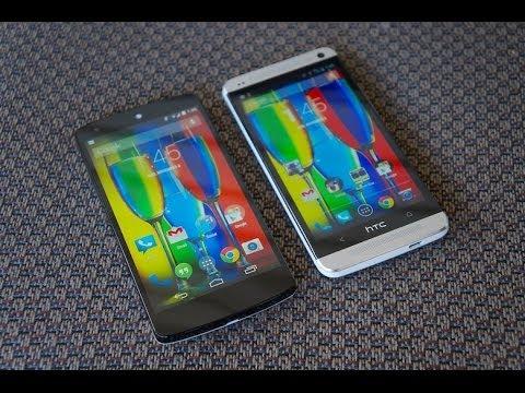 Nexus 5 vs HTC One