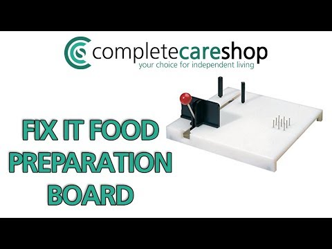 Hold Onto Your Independence - Fix It Food Preparation Board