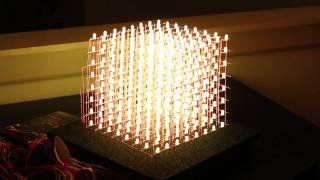 The 4x4x4 LED Cube Arduino Resistor Arduino