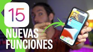 iOS 15 | 15 COSAS NUEVAS que puedes hacer con la nueva versión del sistema operativo de Apple