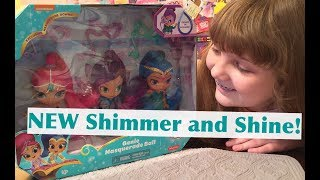 NEW Mattel Fisher-Price Shimmer and Shine Genie Masquerade Ball 3-Pack Dolls – Unboxing and Review