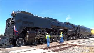 Union Pacific 844 Departs Cheyenne, WY July 2018