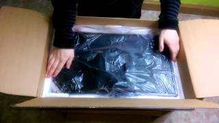 Samsung S24E390HL  Monitor Unboxing (Germany)
